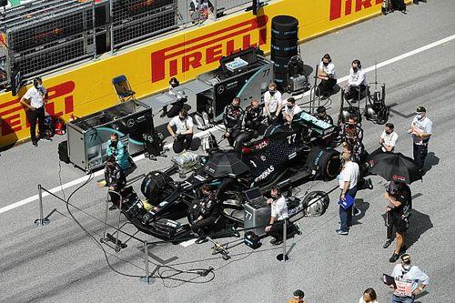 مرسيدس تتجنب تكرار مشاكل علبة التروس في سباق النمسا