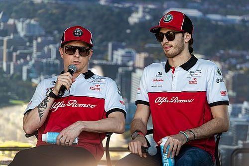 Resmi: Raikkonen ve Giovinazzi, 2021'de Alfa Romeo'da devam edecek