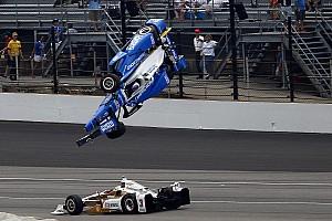 """IndyCar Últimas notícias Helio comenta acidente de Dixon: """"tive sorte de escapar"""