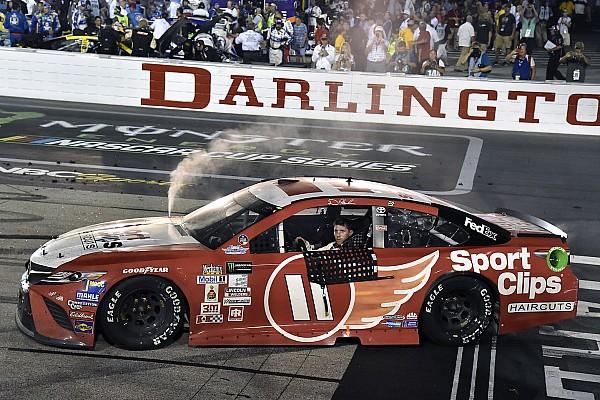 NASCAR Cup Both Hamlin's Cup and Xfinity wins at Darlington deemed encumbered