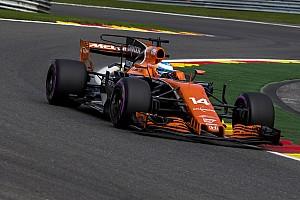 Formel 1 News Kurios: Fernando Alonso in Spa zu schnell für Honda-Antrieb