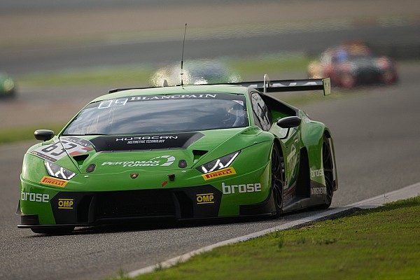 Гонщики Grasser Lamborghini стали чемпіонами Blancpain Endurance