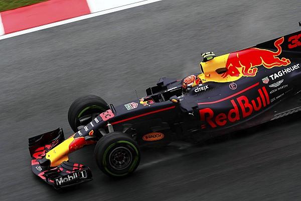 Red Bull domina y Alonso es 3º en una primera sesión acortada por lluvia