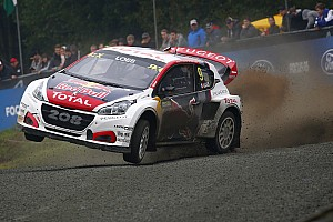 World Rallycross Ultime notizie Peugeot conferma l'impegno nel Mondiale Rallycross e rinnova Loeb