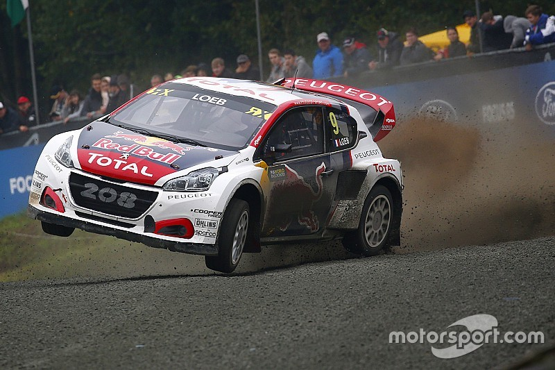 Peugeot commits to 2018 WRX season with Loeb
