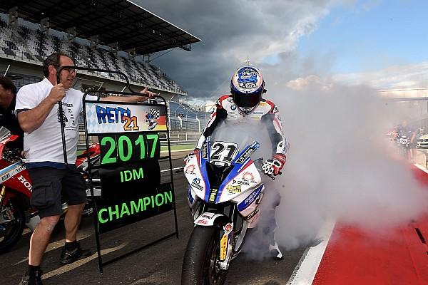 Superbike-WM Markus Reiterberger nach IDM-Gesamtsieg: