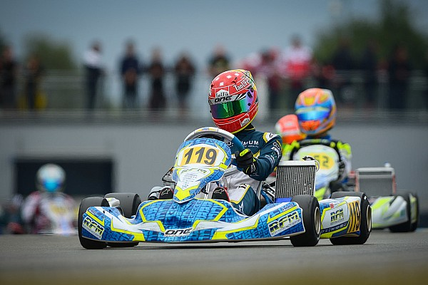 Kart Race report Moroccan Taoufik becomes European karting champion