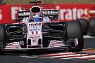 F1 Force India y Sergio Pérez ven cercano subir al podio