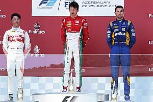 FIA F2 Reporte de la carrera Triunfo de Leclerc en una carrera que acabó 'patas arriba'