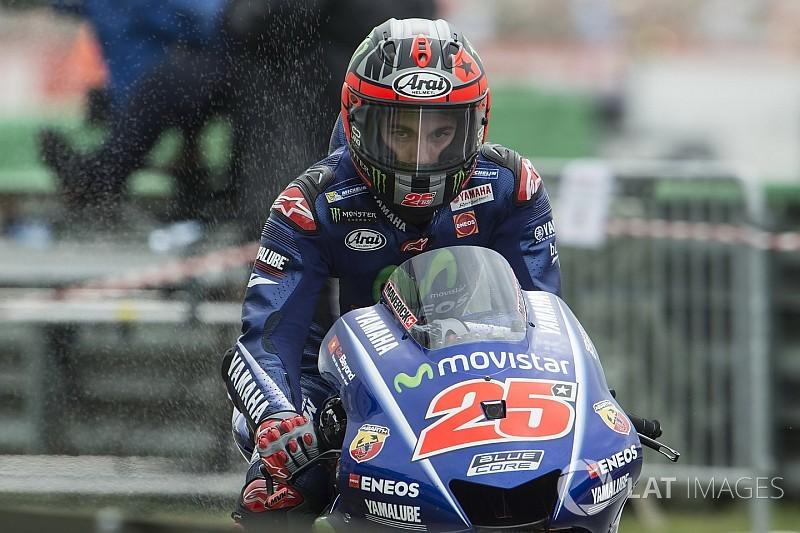 Виньялес пожаловался на новое шасси Yamaha