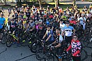 NASCAR Cup NASCAR drivers lead bike ride to honor Nicky Hayden