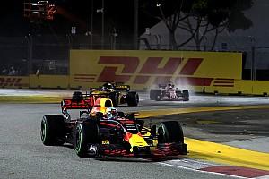 Formel 1 Reaktion Formel 1 2017 in Singapur: Ricciardo hadert mit Top-Ergebnis