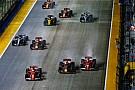 F1 ハミルトン、ベッテルの行動に理解「フェルスタッペンは死角のはず」