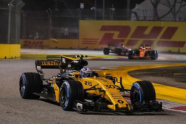 Palmer: Renault'dan başım dik ayrılmak istiyorum