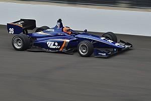 Indy Lights Qualifiche Matheus Leist centra la pole per la Freedom 100