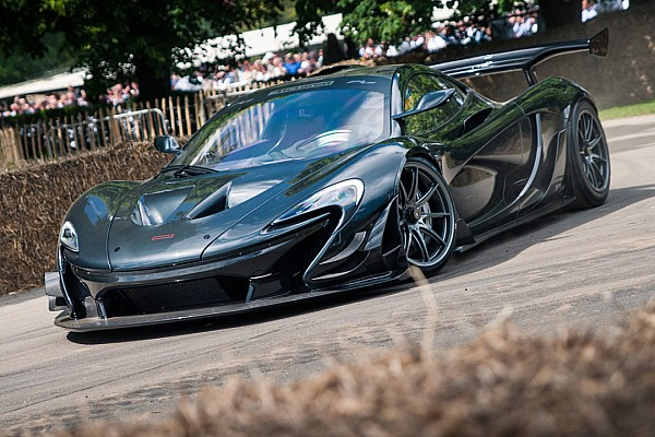 Automotive See McLaren P1 LM set Goodwood record run from Brack's view