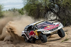 Dakar Stage report Dakar 2017, Stage 12: Peterhansel crowned, Peugeot takes 1-2-3