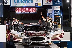 ERC Gara Alexey Lukyanuk è impeccabile, il Rally Islas Canarias è suo