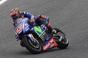 """MotoGP Noticias de última hora Viñales: """"Fue un buen día a pesar de la caída; me siento cómodo"""""""