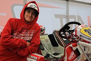 Kart Entrevista Promessa no kart, Collet busca evolução em equipe de ponta