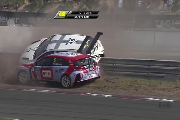 Michelisz fa volare Muller sulle barriere a Zandvoort!