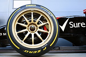 F1力争在2021年引入更大尺寸轮胎