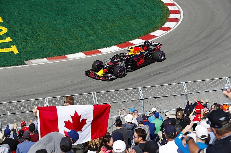 Verstappen nyerte az első edzést a Kanadai Nagydíjon Hamilton előtt