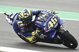 MotoGP Reaktion Valentino Rossi trotz Platz neun zuversichtlich: