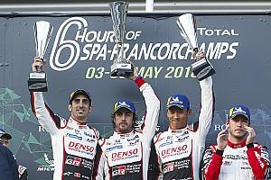 WEC Crónica de Carrera Alonso gana y Pechito López segundo en las 6 Horas de Spa
