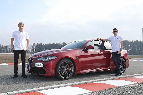 Формула 1 Важливі новини Відео: Шарль Леклер протестував Alfa Romeo