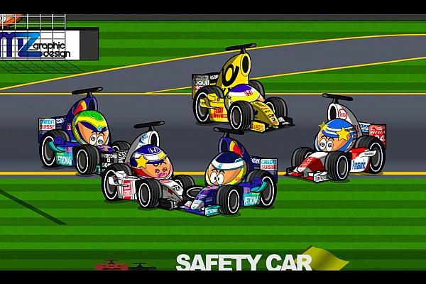 F1 Vídeo: el accidentado GP de Australia 2002 de F1, por MiniDrivers