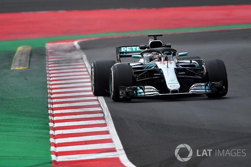 Hamilton dice que el Mercedes 2018 ya es más rápido que el de 2017