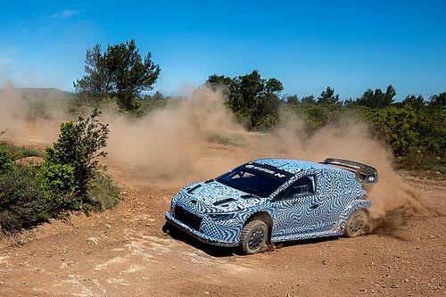 Hyundai teste sa WRC 2022 dans le sud de la France