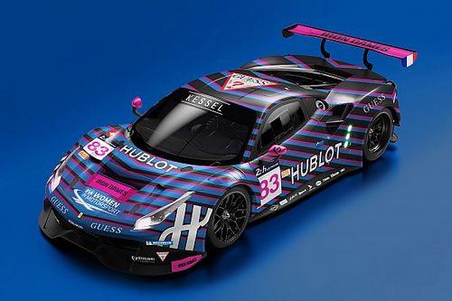 Le Kessel Racing et son équipage féminin s'associent avec GUESS et Hublot pour les 24 Heures du Mans