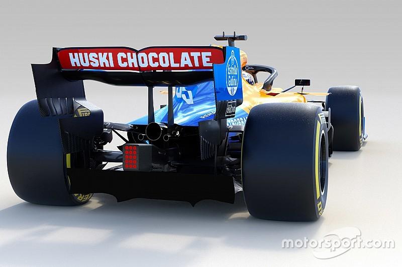 Новая McLaren MCL34: фото в деталях
