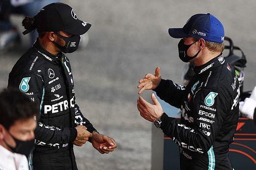 """Bottas no quiere juegos mentales """"a lo Rosberg"""" con Hamilton"""