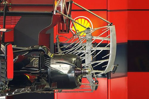 Las pruebas aerodinámicas de Ferrari pensando en 2022