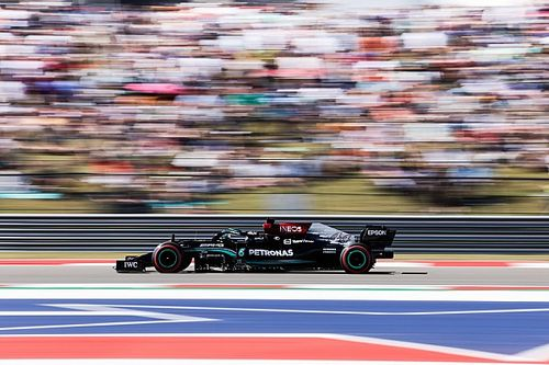 Hamilton: Mercedes 'fell back a little bit' through US GP qualifying