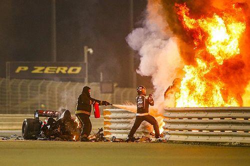 Grosjean: Boldogabb ember lettem a balesetem után!