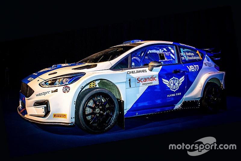 Así será el Ford Fiesta con el que Bottas correrá el Rally de Rovaniemi