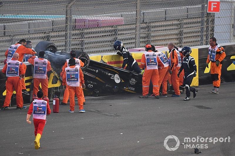 ヒュルケンベルグの大クラッシュに、ハロの悪影響なし。FIAが自信