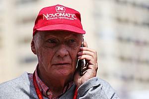 Formula 1 Breaking news Lauda: