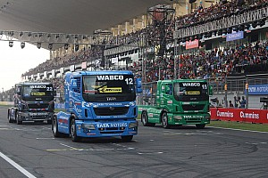 Other truck Interview Crowd at Tata Prima race impresses Summerfield