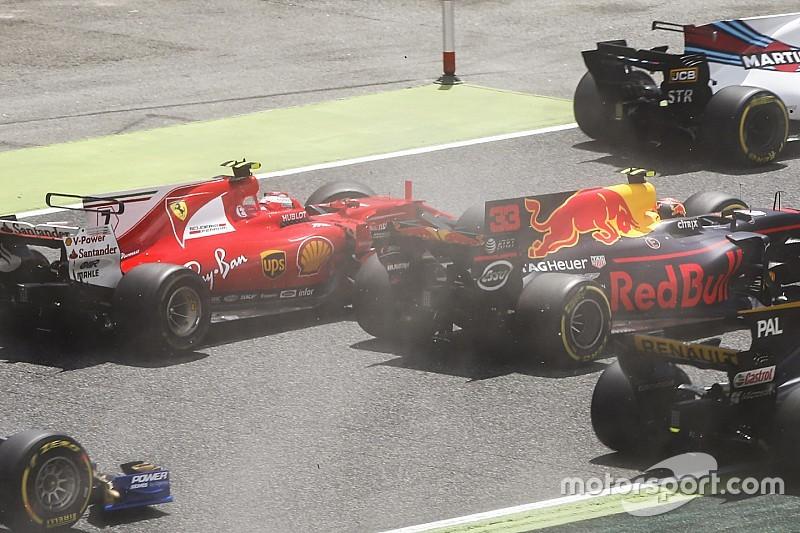 Raikkonen y Verstappen culpan a Bottas por sus abandonos