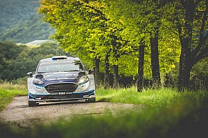 WRC Leg report Germany WRC: Tanak leads Mikkelsen, Ogier spins