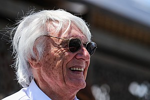 Vintage Breaking news Festival of Speed sculpture dedicated to Ecclestone