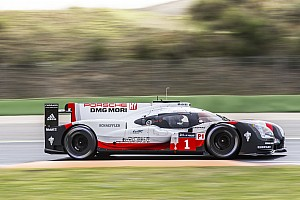 WEC Testing report Porsche leads opening WEC Prologue test session
