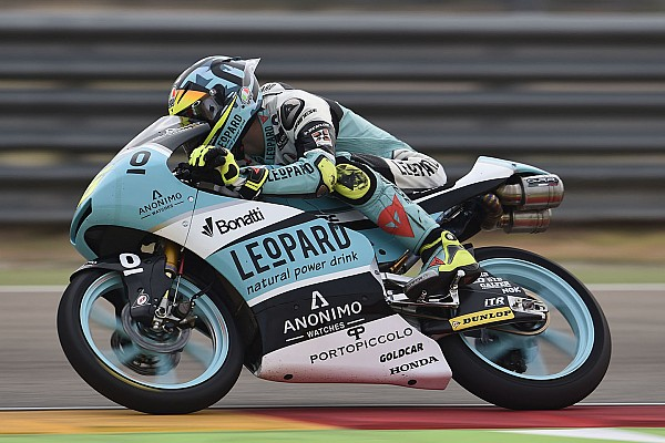Mir ganó en Aragón y quedó a las puertas del título en Moto3