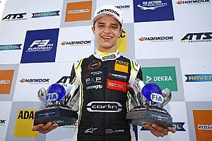 FIA F2 Nieuws McLaren-junior Norris maakt Formule 2-debuut in Abu Dhabi