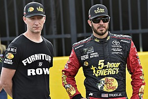 NASCAR Cup Breaking news Martin Truex Jr. not in 2017 form but